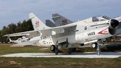 1403 - Vought F4U-7 Corsair - Thailand - Royal Thai Air Force