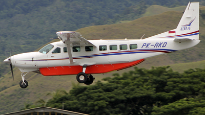 PK-RKD - Cessna 208B Grand Caravan EX - Associated Mission Aviation - AMA