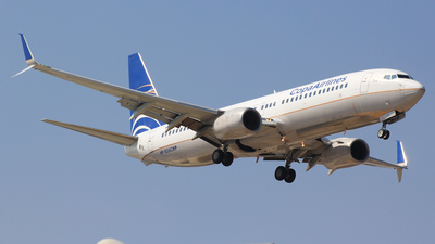 A picture of HP1834CMP - Boeing 7378V3 - Copa Airlines - © Chárbel Sandoval