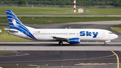 TC-SKB - Boeing 737-430 - Sky Airlines