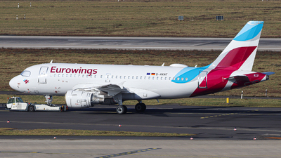 D-AKNT - Airbus A319-112 - Eurowings