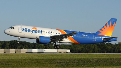 A picture of N287NV - Airbus A320214 - Allegiant Air - © DJ Reed - OPShots Photo Team