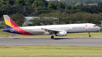 HL8279 - Airbus A321-231 - Asiana Airlines