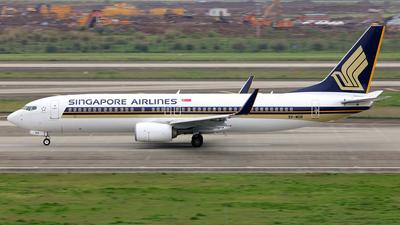9V-MGB - Boeing 737-8SA - Singapore Airlines