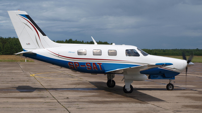 SP-SAT - Piper PA-46-350P Malibu Mirage - Private