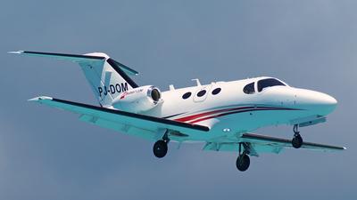 A picture of PJDOM - Cessna 510 Citation Mustang - [5100316] - © Peter Kesternich
