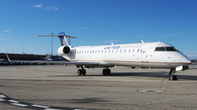 A picture of N785SK - Mitsubishi CRJ701ER - United Airlines - © Michael Rodeback