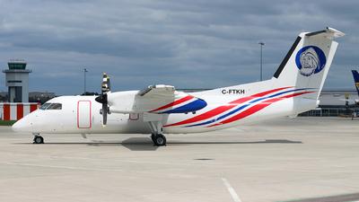 A picture of CFTKH - De Havilland Canada Dash 8100 - [472] - © Dave Potter