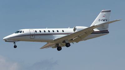C-FMFN - Cessna 680 Citation Sovereign - Private