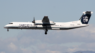 N442QX - Bombardier Dash 8-Q402 - Alaska Airlines (Horizon Air)