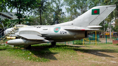 1704 - Shenyang F-6 - Bangladesh - Air Force