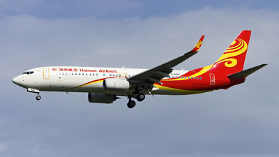 A picture of B6061 - Boeing 73789P - Hainan Airlines - © Minizyi