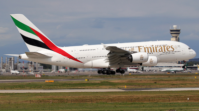 A6-EUC - Airbus A380-861 - Emirates