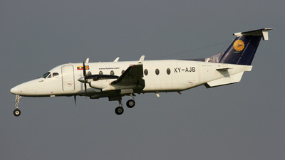XY-AJB - Beech 1900D - Myanmar National Airlines