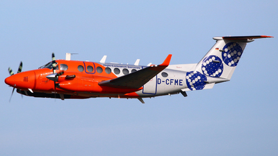 A picture of DCFME - Beech 300 Super King Air 350 - Flight Calibration Services - © Andreas Fietz