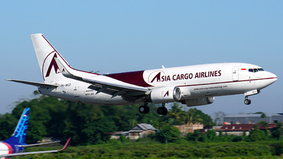 PK-MGZ - Boeing 737-3H4(SF)  - Asia Cargo Airlines
