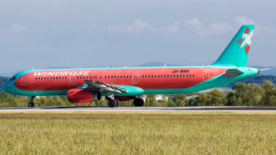 UR-WRH - Airbus A321-231 - Wind Rose Aviation