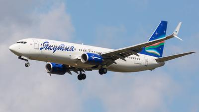 VQ-BIZ - Boeing 737-86N - Yakutia Airlines