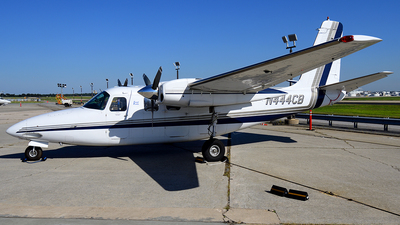 A picture of N444CB - Aero Commander 500B - Central Airlines - © Agustin Anaya