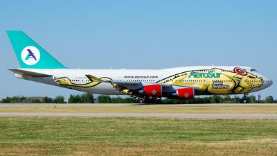 CP-2603 - Boeing 747-443 - AeroSur