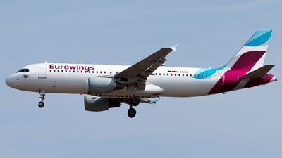 D-ABNE - Airbus A320-214 - Eurowings