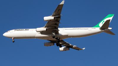 A picture of EPMMA - Airbus A340311 - Mahan Air - © Dara Z.