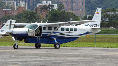 HK-5209-G - Cessna 208B Grand Caravan EX - Private