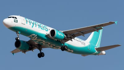 A picture of VPCXR - Airbus A320214 - Flynas - © AirlinerSpotter