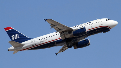 N816AW - Airbus A319-132 - US Airways