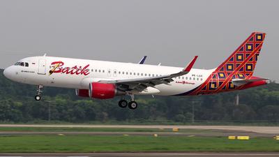 PK-LUY - Airbus A320-214 - Batik Air