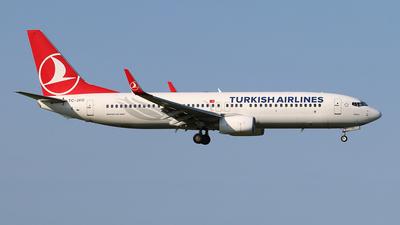 TC-JVO - Boeing 737-8F2 - Turkish Airlines