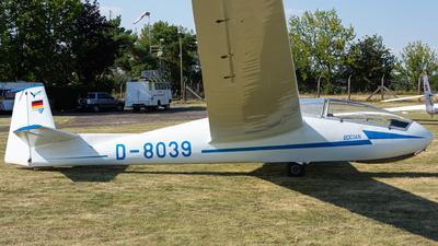 D-8039 - SZD 9bis Bocian 1E - Private