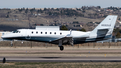 N680KR - Cessna 680 Citation Sovereign - Private