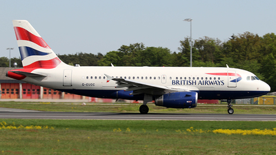 G-EUOC - Airbus A319-131 - British Airways