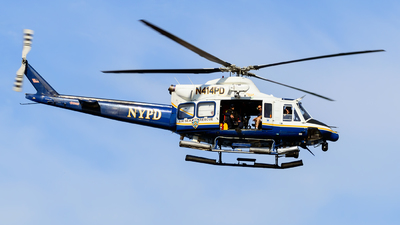 N412PD - Bell 412EP - United States - New York City Police
