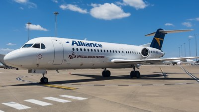 VH-JFE - Fokker 70 - Alliance Airlines
