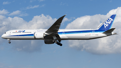 JA901A - Boeing 787-10 Dreamliner - All Nippon Airways (ANA)