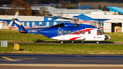G-MRLI - Sikorsky S-92A Helibus - Bristow Helicopters