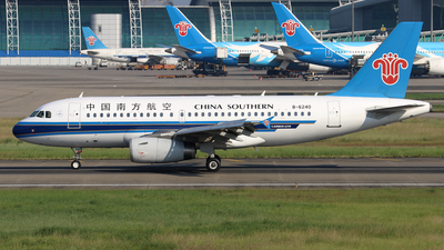 B-6240 - Airbus A319-132 - China Southern Airlines