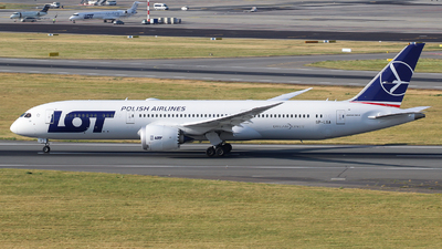 SP-LSA - Boeing 787-9 Dreamliner - LOT Polish Airlines