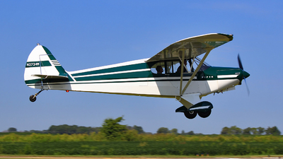 N2734M - Piper PA-12 Super Cruiser - Private