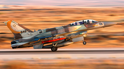 848 - Lockheed Martin F-16I Sufa - Israel - Air Force