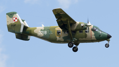 0218 - PZL-Mielec M-28TD Bryza - Poland - Air Force