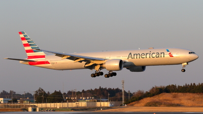A picture of N736AT - Boeing 777323(ER) - American Airlines - © Kodap