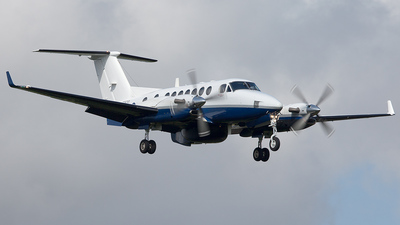 ZZ500 - Beechcraft 350ER Avenger T.1 - United Kingdom - Royal Navy