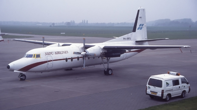 PH-RFG - Fokker F27-500F Friendship - NEPC Airlines