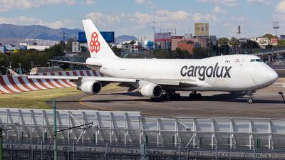 LX-JCV - Boeing 747-4EVERF - Cargolux Airlines International