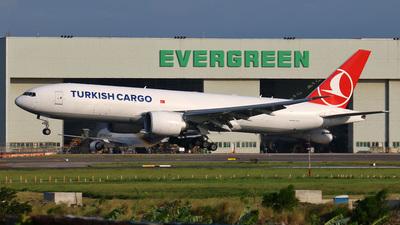TC-LJO - Boeing 777-FF2 - Turkish Airlines Cargo