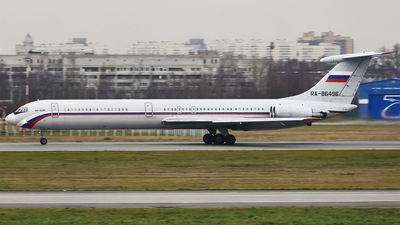 RA-86496 - Ilyushin IL-62M - Russia - 223rd Flight Unit State Airline