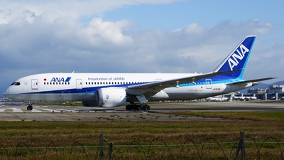 JA831A - Boeing 787-8 Dreamliner - All Nippon Airways (ANA)